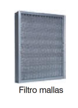 Filtro Campana MALLA 49X49 AISI304  KF10003
