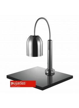 Lámpara mantenedora de comida caliente con mármol Inox Pujadas P688.260