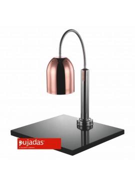 Lámpara mantenedora de comida caliente con mármol Cobre Pujadas P688.261