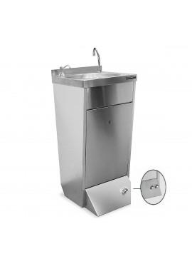 Lavamanos de pie 2 pulsadores + dispensador jabón DISTFORM F0251201