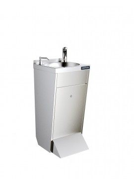 Lavamanos de pie grifo electrónico + dispensador jabón DISTFORM F0251301